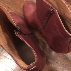 Martin Margiela Shoes - Perfectly Perfect! Deep Red Margiela Bootie.